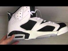 "Nike Air Jordan 6 retro ""Oreo"" from rephype.com if you like this shoe can buy here   http://www.rephype.com/Perfect-Jordan-6-AAA-002-p328677.html"
