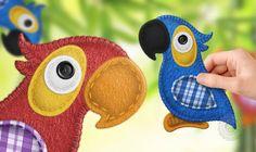 Aprenda com 40 Moldes Como Transformar Retalhos de Feltro em Lindos Animais Decorativos