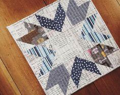 Mini quilt from @canoeridgecreations fresh mini quilt club
