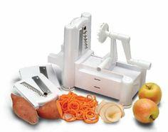 Amazon.com: Paderno World Cuisine A4982799 Tri-Blade Plastic Spiral Vegetable: Kitchen & Dining