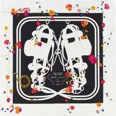 La Maison des Carrés Hermès | Brides Fleuries