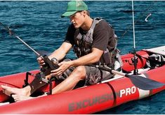 When shopping for the best inflatable kayak the factors to consider are material, portability, purpose of Use & size. Read our reviews of the top 10 kayaks Fishing Kayak Reviews, Best Fishing Kayak, Fishing Rod, Kayak Camping, Sports Nautiques, Water Sports, Kayaks, Kayak Brands, Inflatable Fishing Kayak