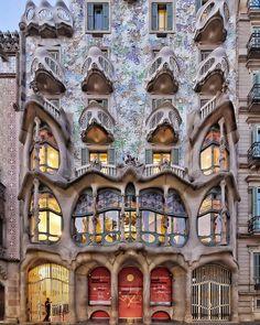 Casa Batlló | Antoni Gaudí | 1906 | Barcelona