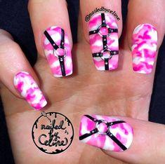 31 Looks: Pretty Pink Nail Inspiration > CherryCherryBeauty.com - nailedbyceline / Instagram