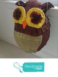 Owl Handmade Party Pinata from Pinata Paradise http://www.amazon.com/dp/B01FPH9GNO/ref=hnd_sw_r_pi_dp_AJgoxb11H1BZN #handmadeatamazon