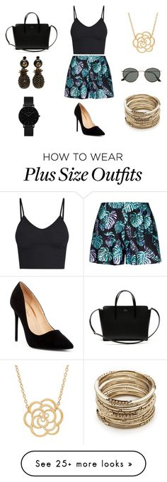 """Palm Springs"" by fashionprincess2014 on Polyvore featuring Liliana, Lacoste, CLUSE, Lord & Taylor, Sole Society, Gucci, Ray-Ban, cute, summerstyle and CasualChic"