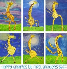 Giraffes Can't Dance Art Lesson