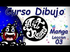 Curso Dibujo Art JReyes Manga 03 - Drawing course - Manga 03 - YouTube