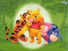 Pooh and his best buddies