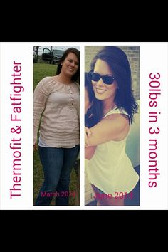 This woman has had AMAZING results with Thermofit and Fat Fighters by It Works!!! YOU TOO could get results like this!! Message me & Check out www.WrappingCutie.com