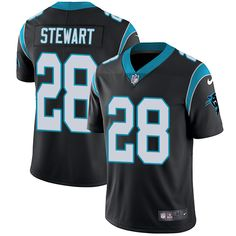 Nike Panthers  28 Jonathan Stewart Black Team Color Men s Stitched NFL  Vapor Untouchable Limited Jersey 00992be6e