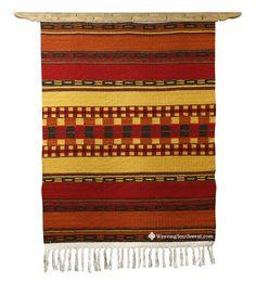 Autumn by Joe Bacon Weaving Southwest tapestry