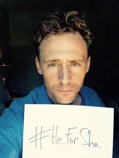 Yet another reason to love Tom Hiddleston.