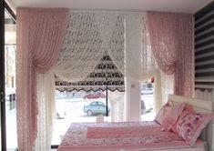 Yatak Odası Perde Modelleri taç | 2015 katalog en yeni modelleri ve çeşitleri