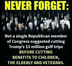 tRump Republikkkan Fascist Thieves STEALING from Americans!!!