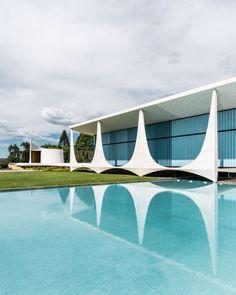 palacia da alvorada - Oscar Niemeyer