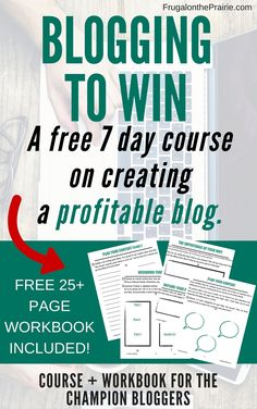 Want to know how to start a blog so you can make money? Sign up for my free 7-day course so you can impress your readers and earn an income online!