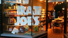 """""""I bought the stuff at full retail. I own it,"""" says Michael Hallatt, owner of the _irate Joe's grocery in Vancouver. The store was named """"Pirate Joe's"""" but the P is missing.  Irate Joe's is funnier.  Good Luck in your business."""