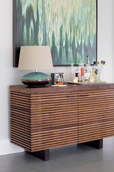 love the painting and the lamp! Winner | Crate and Barrel