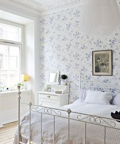 What a beautiful, light, airy, room.