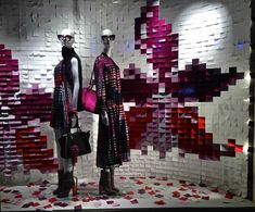 VM choice: Fendi and its Post-it note windows - Retail Design World