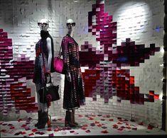 VM choice: Fendi and its Post-it note windows - Retail Design World