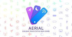 Cydia : Aerial, donner de la couleur aux icônes de la barre de statuts (Iphone3gsystem)