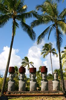 at Polynesian Cultural Center Oahu
