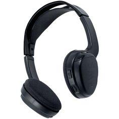 Power Acoustik 1-channel Wireless Ir Headphones