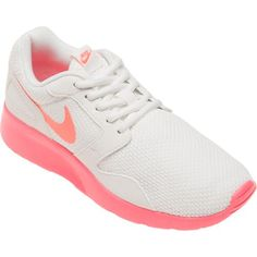 The Nike Women's Kaishi Athletic Lifestyle Shoes feature textile uppers and IU midsoles and outsoles.