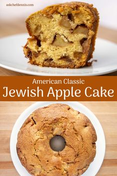 There's a good chance you've never heard of a Jewish Apple Cake. But trust me, once you make this American Classic it will become a family favorite. Apple Cake Recipes, Homemade Cake Recipes, Cupcake Recipes, Cupcake Cakes, Dessert Recipes, Carrot Recipes, Tofu Recipes, Roast Recipes, Bundt Cakes