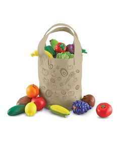 Fresh Picked Fruit & Veggie Tote by New Sprouts on #zulily