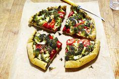 Italian Broccoli-Tomato Galette | Vegetarian Times