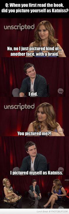 Josh Hutcherson Strikes Again! (poor Jennifer Lawrence..)