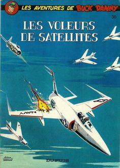 Buck Danny -30- Les voleurs de satellites - 1964