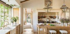 Inside an Elegant, Rustic Farmhouse Near Ojai via @mydomaine