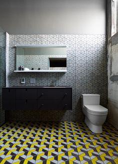 bath / Dwell Patterns - Heath Ceramics
