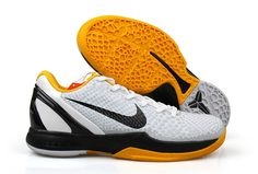 low priced 3e290 c1539 NIKE ZOOM KOBE VI White yellow!62.30USD Kobe 8 Shoes, Nike Shoes,
