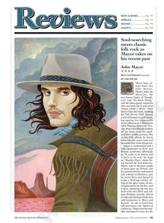 Resenha do Born and Raised na revista Rolling Stone | John Mayer BR