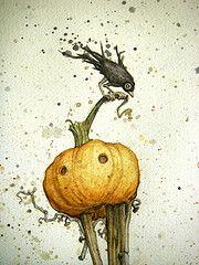 Pumkin Head.....by Leontine Greenberg