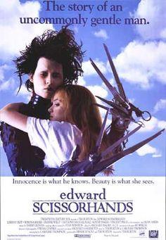 Edward Scissorhands . .  is this my favorite Johnnie Depp movie . . . hmmmm . . . let me think . . .