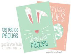 Petits canaillous   Cartes Joyeuses Pâques à imprimer   http://www.petits-canaillous.fr