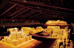Tottori Sand Museum, Tottori Prefecture...