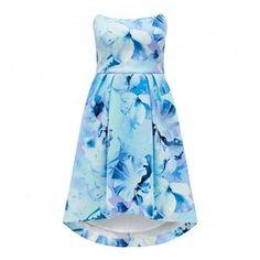 Forever New Belinda Structured Bandeau Prom Dress