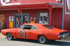 "Cooter's Dukes of Hazard Museum-cliff1066â""¢135 The Dodge Charger is a car manufactured by Chrysler under the Dodge brand name. Although there have been many different types of Dodge Chargers, the B-body Dodge Charger was the one that existed throughout the late 60s and most of the 70s. Based on the Chrysler B platform, the Dodge Charger could be ordered with high-performance options. The 1969 Dodge Charger ""General Lee"" was featured in the popular 80s TV series ""The Dukes of Hazzard."""
