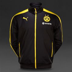 Borussia Dortmund 2015/16 Black Men Training Jacket