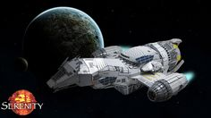 Serenity Lego Style - a ton of pictures at this link