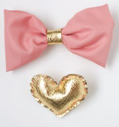 Cute bow and easy to make or buy from store up to you.