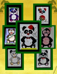 Percent Problems: This math craftivity provides practice for calculating percent discounts and markups. I require students to complete all the percent problems before allowing them to assemble the disk and panda. Students get so excited that they often want to make both the girl and boy panda. This is a fun activity to use after state testing or prior to winter, spring, or summer break.  $