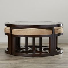 Found it at Wayfair - Sun King Coffee Table and stools